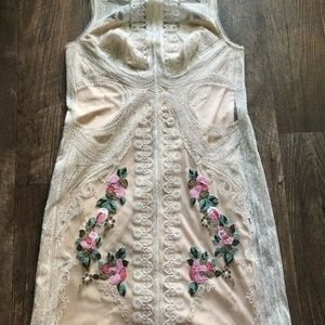 NEW Anthropologie BHLDN Rosemary Embroidered Sheat